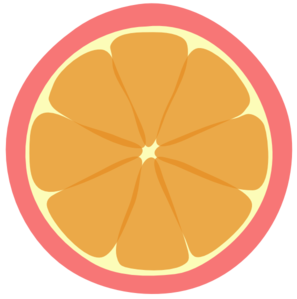 Final And Best Pink Tangerine Clip Art