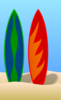 Surfboards Clip Art