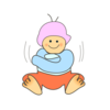 Baby In Winter Clip Art