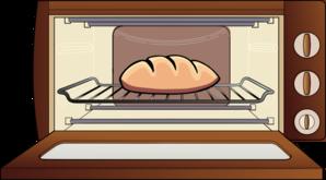 Bun In The Oven Clip Art at Clker com - vector clip art