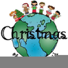 Christmas Around The World Clipart Image