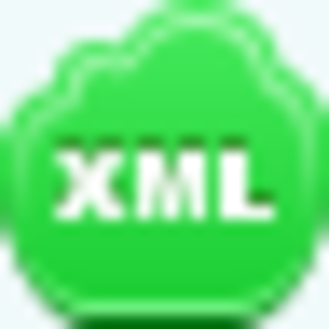 Free Green Cloud Xml Image