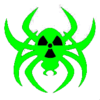Radioactive Spider Neongreen Cut Image