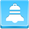 Free Blue Button Icons Christmas Bell Image