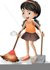 Clipart Sweeping Image