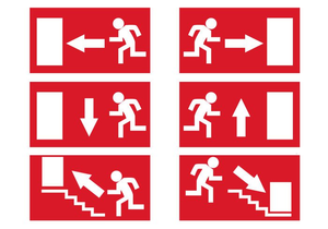 Exit Sign Clipart Free Image