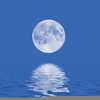 Moonlight Over Water Image