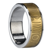Mm Gold Plating Tungsten Ring Image