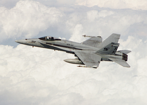 Hornet Patrols Over Southern Iraq Image