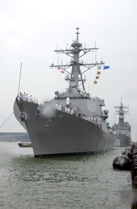 Uss Cole Returns To Homeport Image