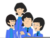Beatles Caricature Clipart Image