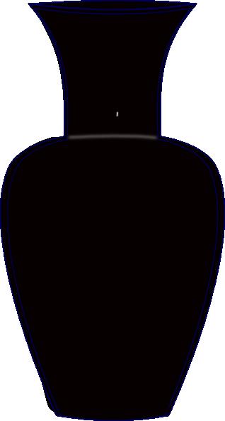Black Vase Clip Art at Clker.com - vector clip art online ...