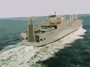 Sea Trials Of Usns Benavidez (t-akr-306) By Northrop Grumman Ship System Avondale Operations Clip Art