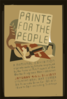 Prints For The People A National Exhibition Of Prints Made By Artists Employed By The Federal Art Project Of The Works Progress Administration. Clip Art