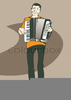 Accordion Clipart Image