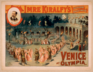 Imre Kiralfy S Superb Spectacle, Venice At Olympia Image
