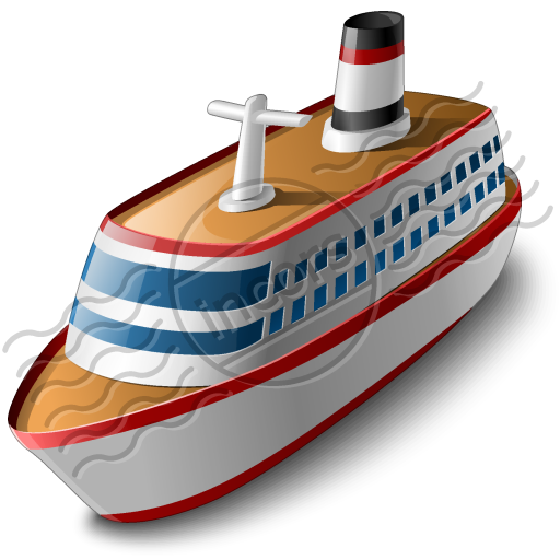 free clip art cartoon cruise ship - photo #36