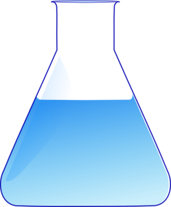 Conical Flask Clip Art