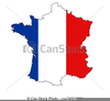 Free Map Of France Clipart Image