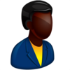 African Boss Icon Image