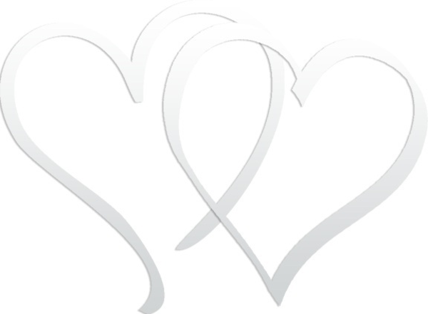 Linked Hearts | Free Images at Clker.com - vector clip art ...