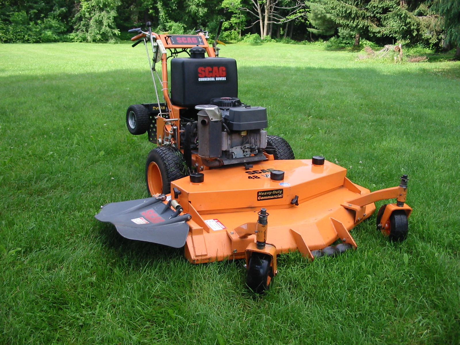 Scag Hydro Drive Walk Mower Free Images At Clker Com