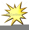 Free Starburst Vector Clipart Image