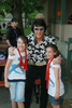 Elvis With Kids Lake George Image
