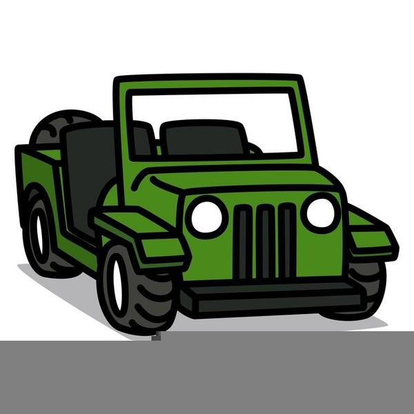 Cartoon Jeep Clipart Free Images At Clkercom Vector Clip Art