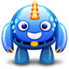 Blue Monster Icon Image