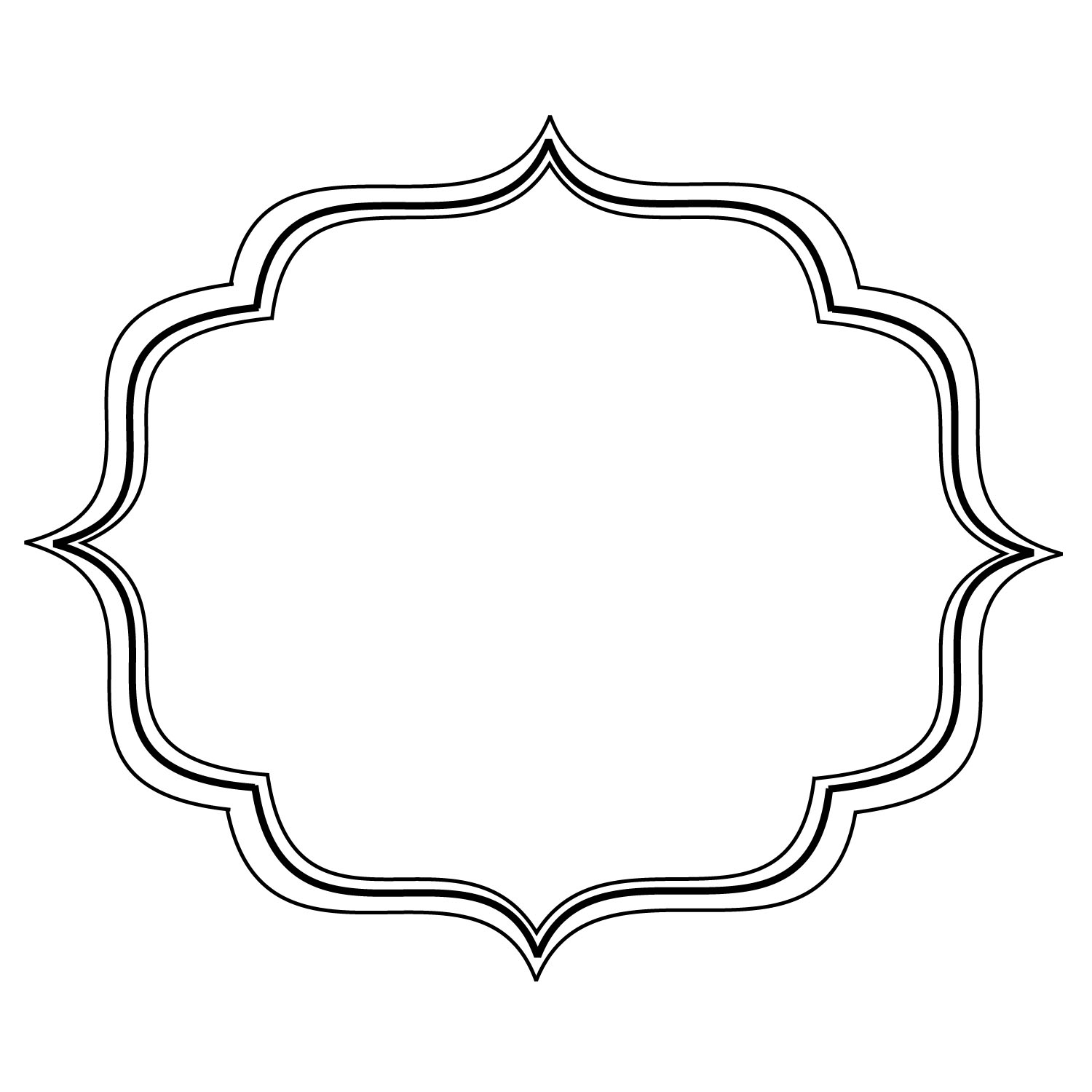 Fancy Frame Clip Art Free