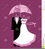 Bridal Shower Umbrella Clipart Image