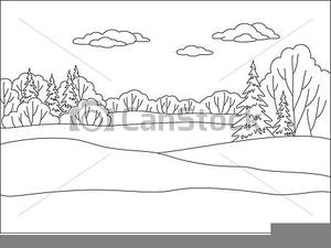 Winter Landscape Clipart Free Images At Clker Com Vector Clip Art Online Royalty Free Public Domain