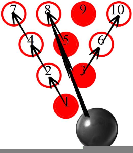 Bowling Clip Art - Royalty Free - GoGraph