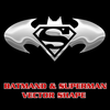 Batman Superman Combo Shape By Retoucher Image