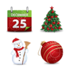 Christmas Magic Icons Set 4x64 Preview 1 Image
