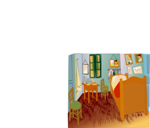 Van Gogh Room Enrique Clip Art