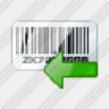 Icon Bar Code Import Image