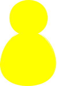 Yello Alone Clip Art