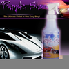 Purple Motorcycle Cleaner Image