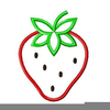 Strawberry Designs Embroidery Image