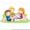 Child Sweeping Clipart Image