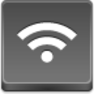 Free Grey Button Icons Wireless Signal Image