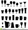 Clipart Of Shot Glasses Image