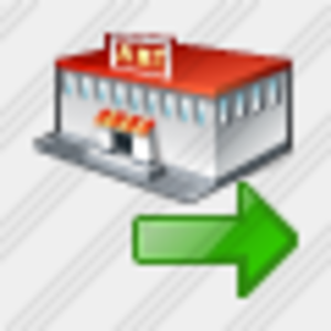 Icon Grocery Shop Export Image