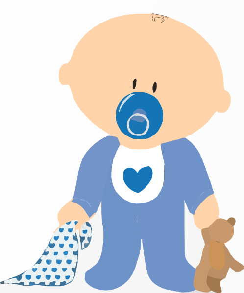 free clipart baby shower boy - photo #7