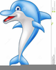 Free Animated Dolphin Clipart Image