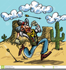 Cowboy And Indian Free Clipart Image