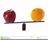 Apples And Oranges Clipart Image