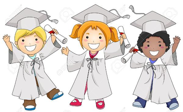 Kindergarten Graduates Clipart   Free Images at Clker.com ...